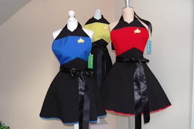 Star Trek Aprons