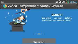 Kioson sebagai jembatan kesenjangan digital UMKM