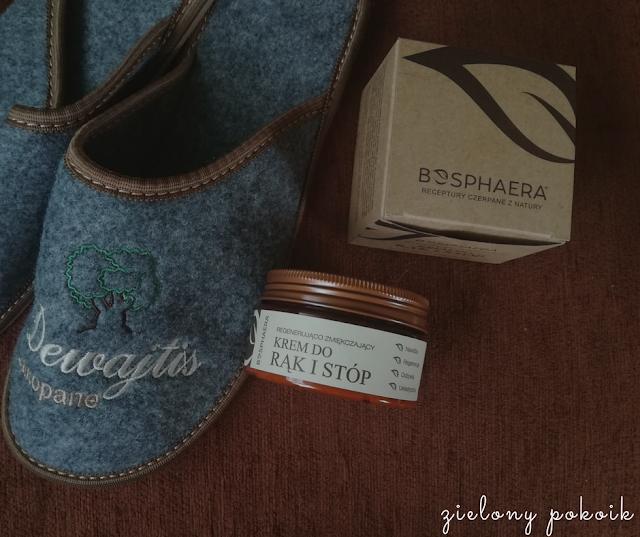 Kosmetycznie: Bosphaera - Krem do rąk i stóp