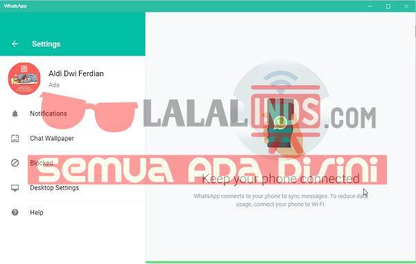 Download WhatsApp 0.2.8082 For PC Terbaru Gratis