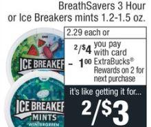 cvs couponers Breath-savers  deals