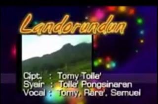 Download Lagu Landorundun - Lagu Toraja