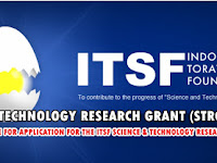 ITSF SCIENCE AND TECHNOLOGY RESEARCH GRANT (STRG) FORM 2019