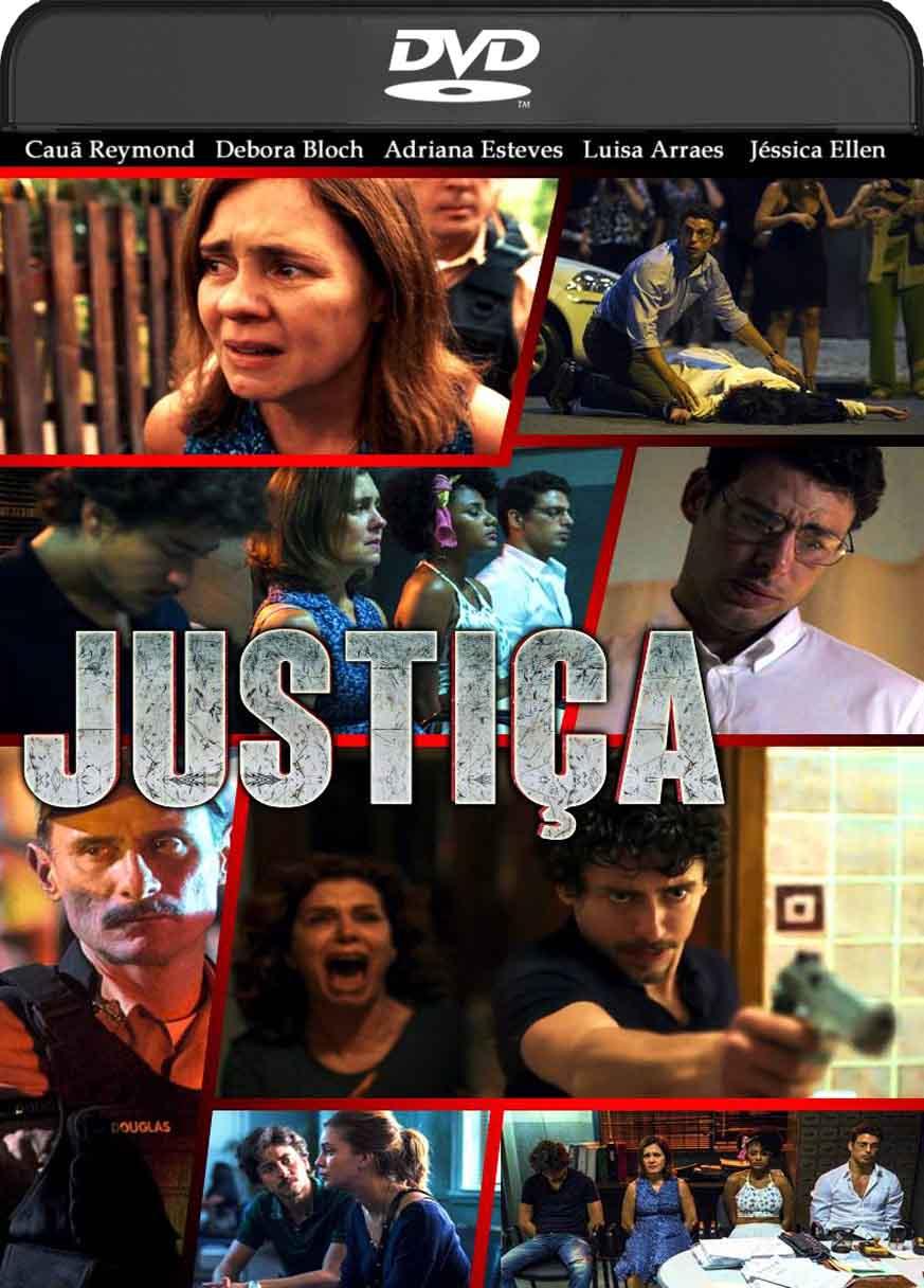 Justiça – Série Completa (2016) DVD-R Custom