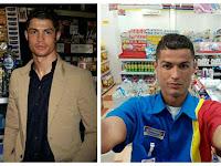 Saat Ronaldo Jadi Karyawan Indomaret, Yuk Follow Instagramnya