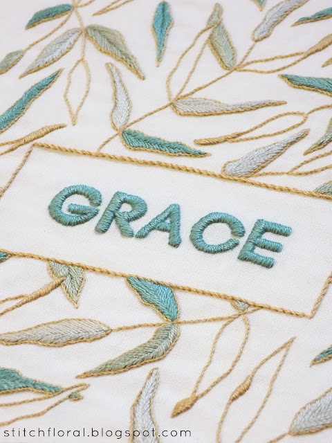 """Grace"": new embroidery pattern"