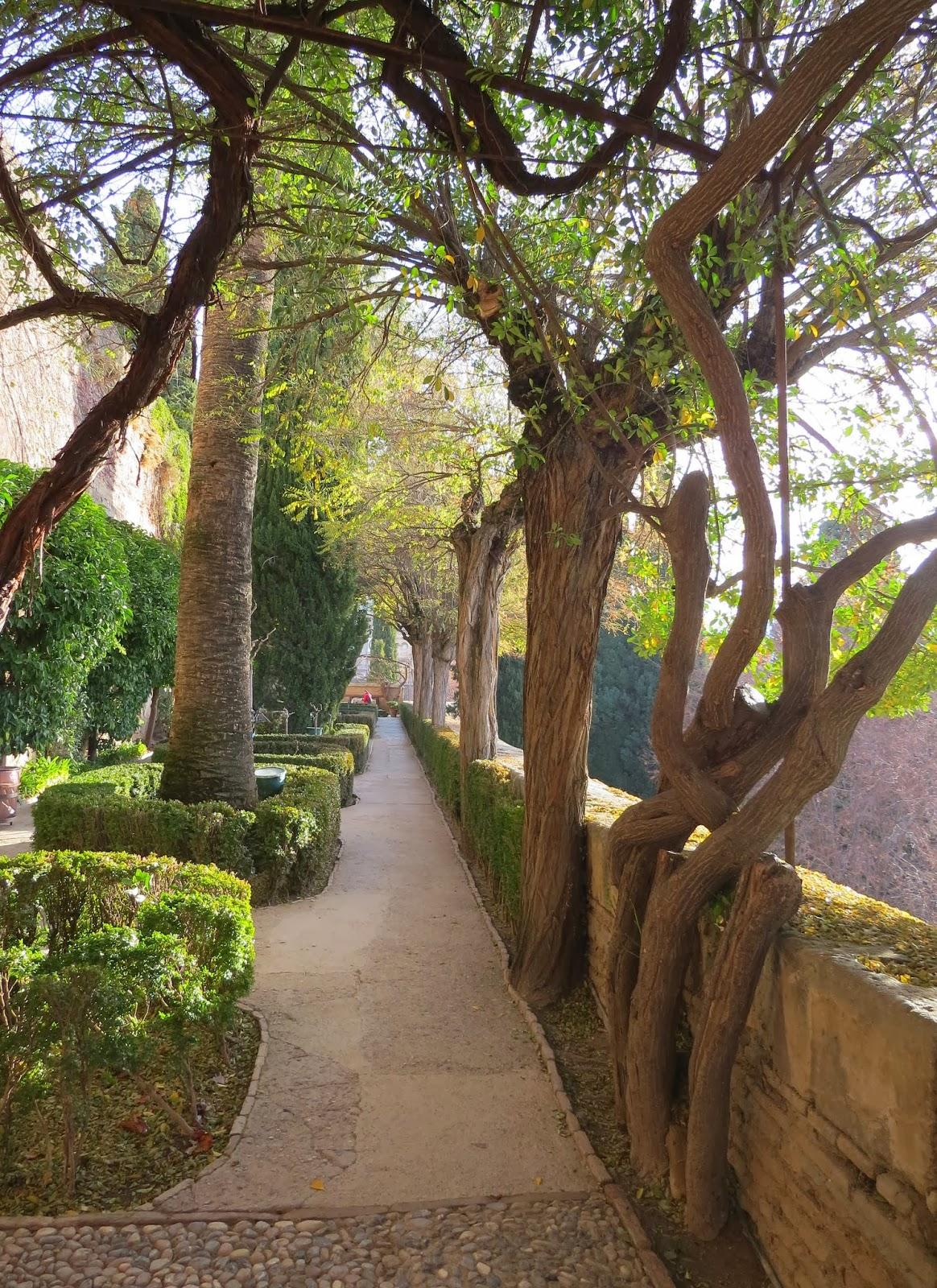 Granada - Exploring the Alhambra | Sidewalk Safari | Part-time ...