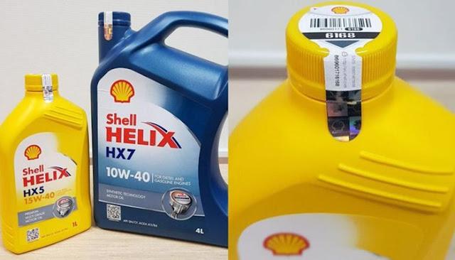 Ciri oli shell yang asli dan cara ngeceknya