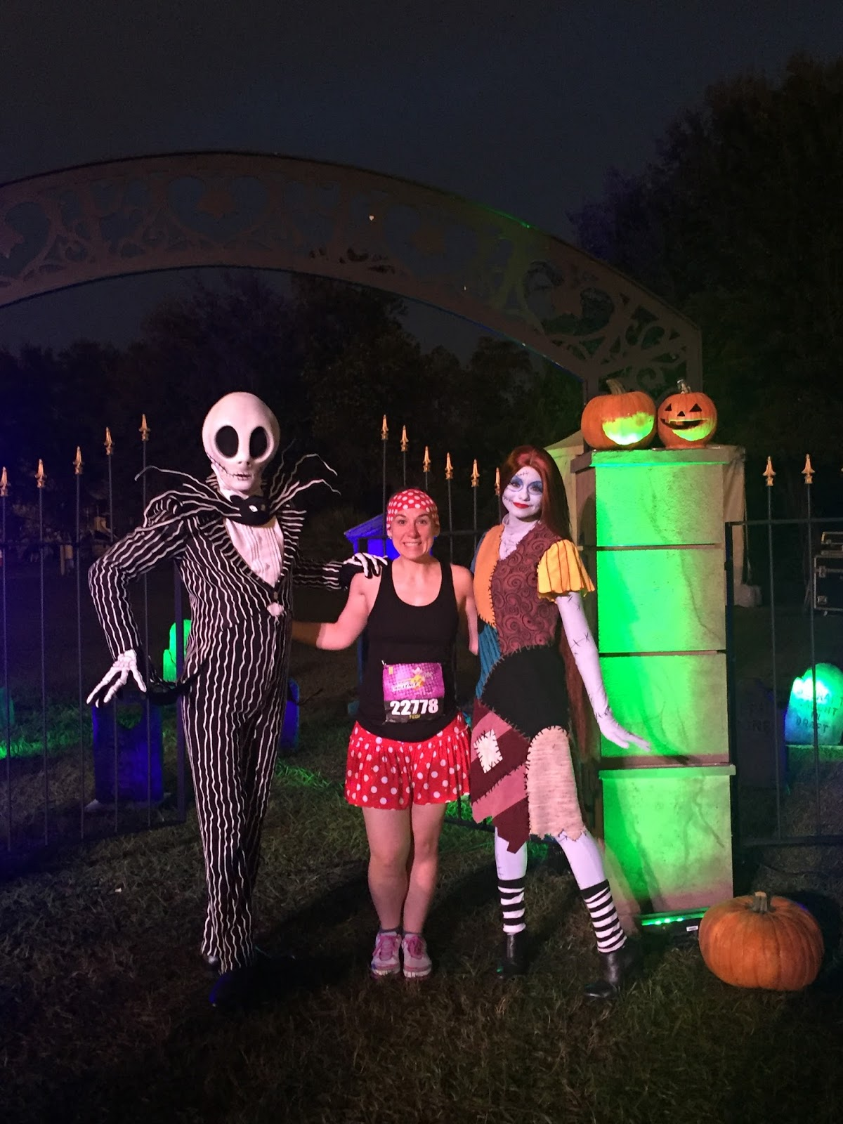 Dopey Challenge Mickey Marathon 2016 Jack Skellington and Sally