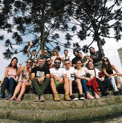 Blogueiros no Curitiblogando 2017 - Free Walking Tour Curitiba