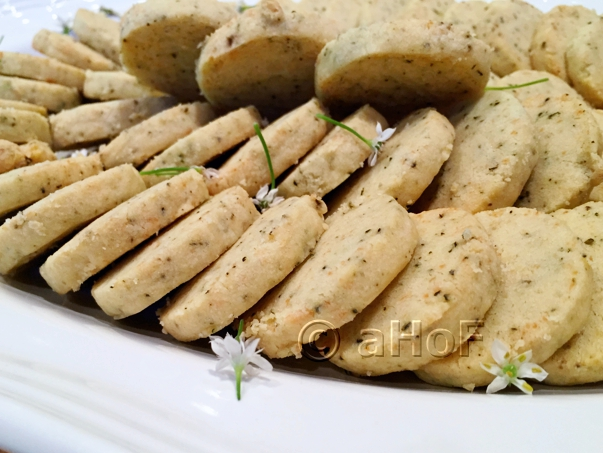 Rosemary & Parmesan Wafers