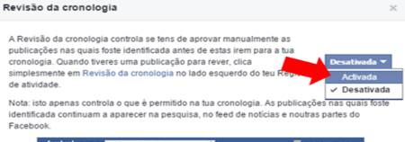 Esconder as Marcações do Facebook da Linha do Tempo