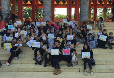 Acara Menyusui Serentak Sembilan AIMI di Semarang