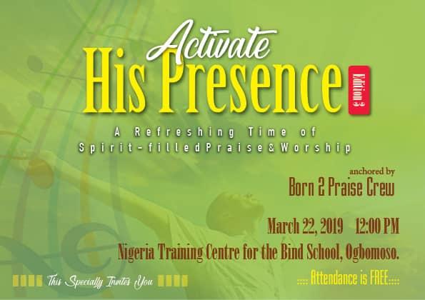 Born to Praise Outreach Program 2019 Announcement