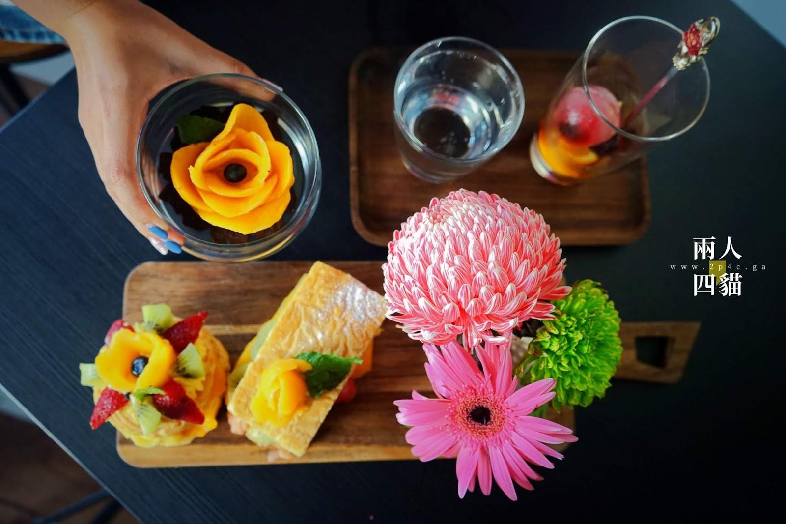 【新竹|美食】少女心噴發!新竹最強花牆咖啡廳沒有之一【荷芙亭】當季水果塔、香草烤雞好吃又好拍