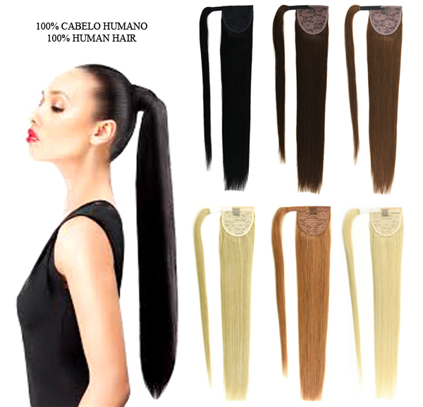 Human Hair Ponytail - OMGNB