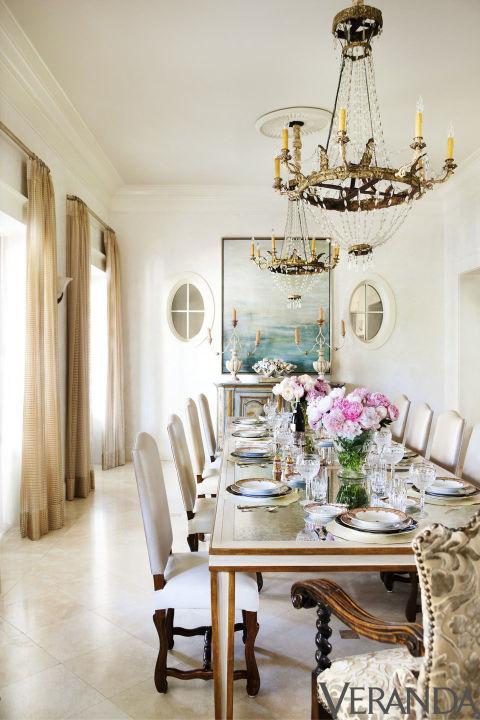 South shore decorating blog 50 favorites for friday rooms from veranda - Veranda dining rooms ...