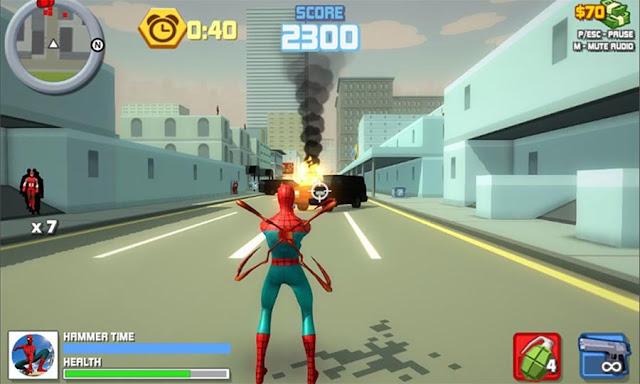 Game Spiderman Android Offline Spider Hero Final War MOD APK