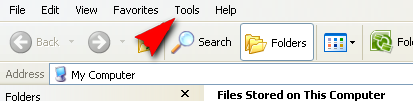 Click on tools together with direct folder options How to Order Folders Can Not live on Deleted
