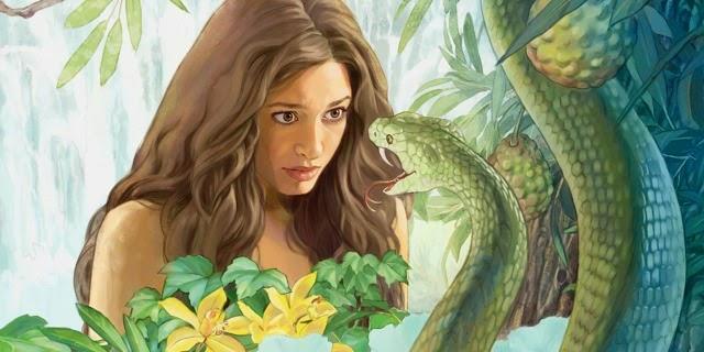 Resultado de imagem para eva e a serpente