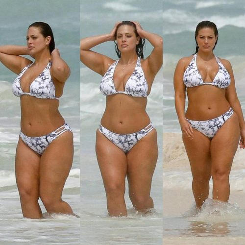 Ashley Graham weight loss plan in bikini