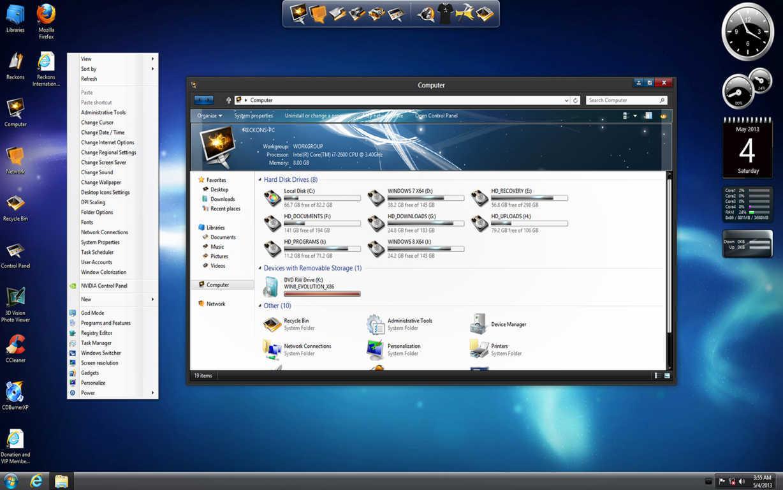 Windows 8.1 ( 64Bit Français ISO Torrent ) http://www.t411.me/torrents/windows-8-1-pro-vl-x64-dvd-french Avec le crack sur le site:...