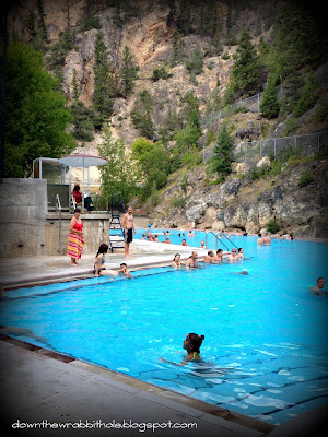 hot springs, radium, british columbia, rocky mountains