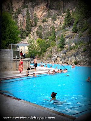 hot springs, radium, british columbia, rocky mountains