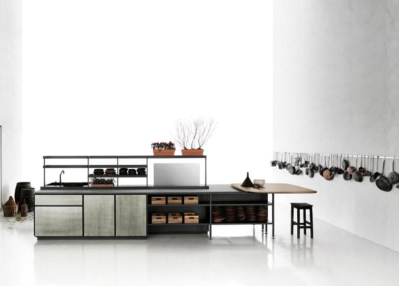 Cucina modulare Salinas progettata da Patricia Urquiola