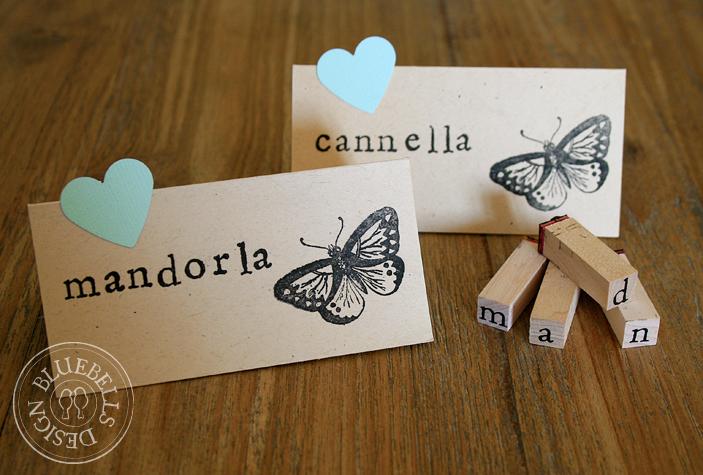 Favoloso Bluebells Design: Confetti e farfalle LZ01