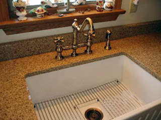 Whitehaus Farmhouse Sink and Faucet