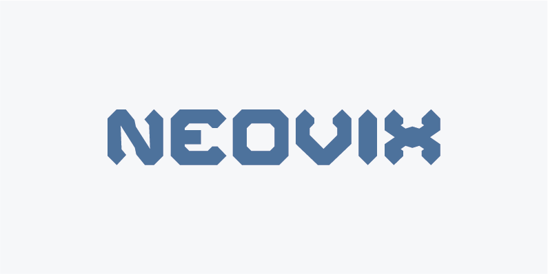 neovix different fonts for gamers