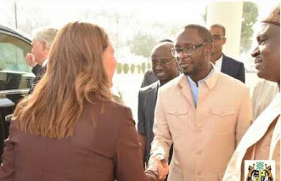 Wife of World's Richest Man, Melinda Gates Storms Kaduna, Meets El-Rufai, Others (Photos)