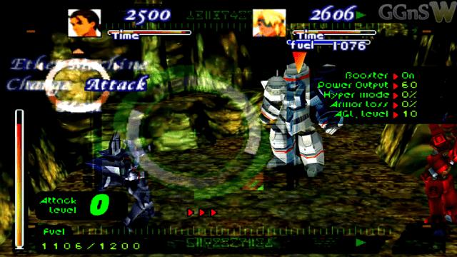 xenogears adalah game dengan karakter robot