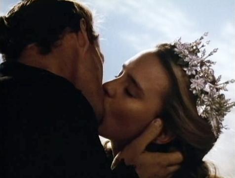 Westley (Cary Elwes) y Buttercup (Robin Wright) en el final de La princesa prometida - Cine de Escritor