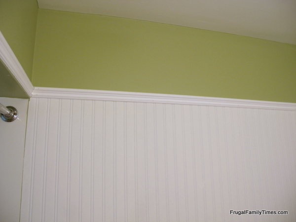 How to Install Beadboard Paintable Wallpaper | Frugal Family Times