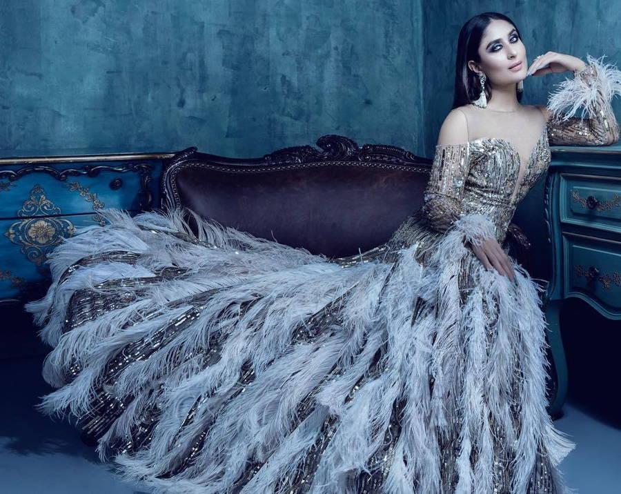 Kareena Kapoor Khan Hot in Bazaar Bride India 2017 Photo Shoot