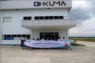 Info Lowongan Kerja QC,STAFF,Terbaru Cikarang PT Ohkuma Industries Indonesia