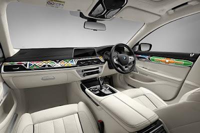 BMW Individual Σειρά 7 από την Esther Mahlangu
