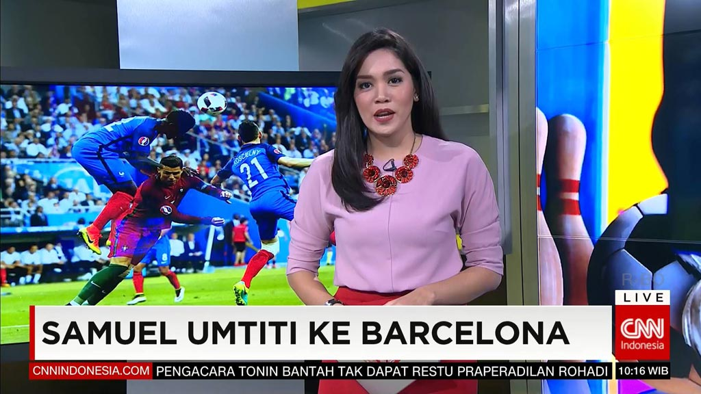 Frekuensi siaran CNN Indonesia di satelit Telkom 3S Terbaru