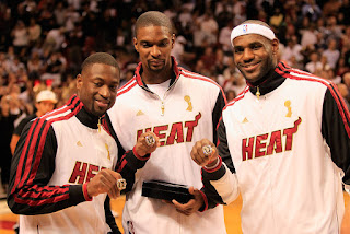 Can the Heat big three be together again in Cleveland?