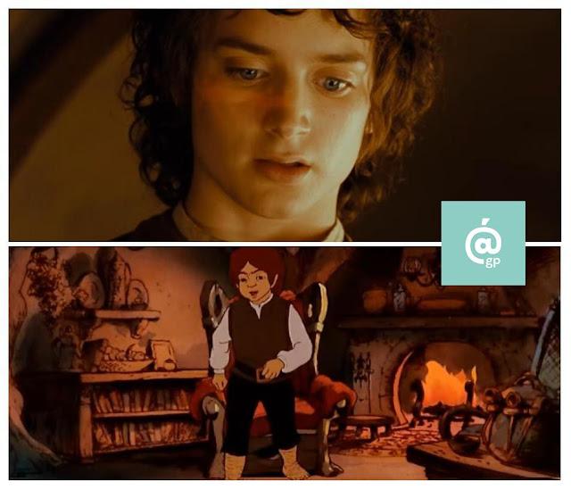 Frodo - El Señor de los Anillos: Peter Jackson Vs Ralph Bakshi / La Comunidad del Anillo - ÁlvaroGP - el fancine - el troblogdita