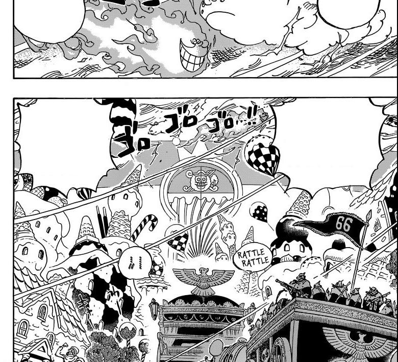 One Piece Versi Teks Bergambar Chapter 845 Pasukan Amarah