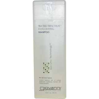 شامبو من جيوفاني بشجرة الشايGiovanni, Tea Tree Triple Treat Invigorating Shampoo, 8.5 fl oz (250 ml)