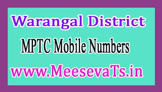 Sangem Mandal MPTC Mobile Numbers List Warangal District in Telangana State