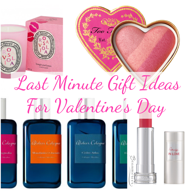 10 Last Minute Gift Ideas For Valentine's Day