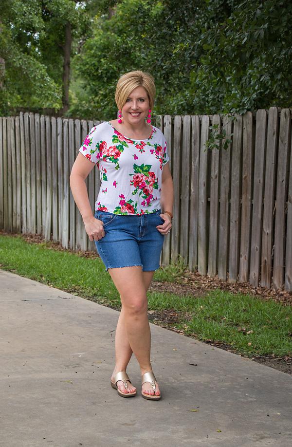 DIY Fray hem shorts (and some sale alerts)