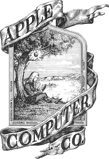 Apple's first logo consisted of Sir Issac Newton sitting under a tree