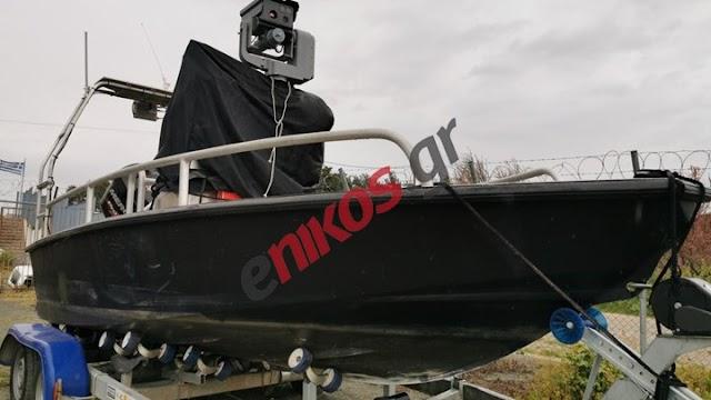 Ο Στρατός παρέλαβε το υπερ-σκάφος επιτήρησης του Έβρου (ΦΩΤΟ)