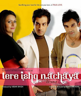 Poster Of Tere Ishq Nachaya (2010) In 300MB Compressed Size PC Movie Free Download At worldfree4u.com